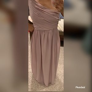 H&M pale  rose evening gown